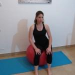 Stability ball sitting 3 - Avital