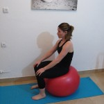 Stability ball sitting 6 - Avital