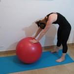 Stability ball streching 10 - Avital