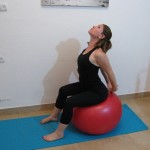 Stability ball streching 7 - Avital
