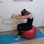 Stability ball streching 8 - Avital