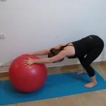 Stability ball streching 9 - Avital